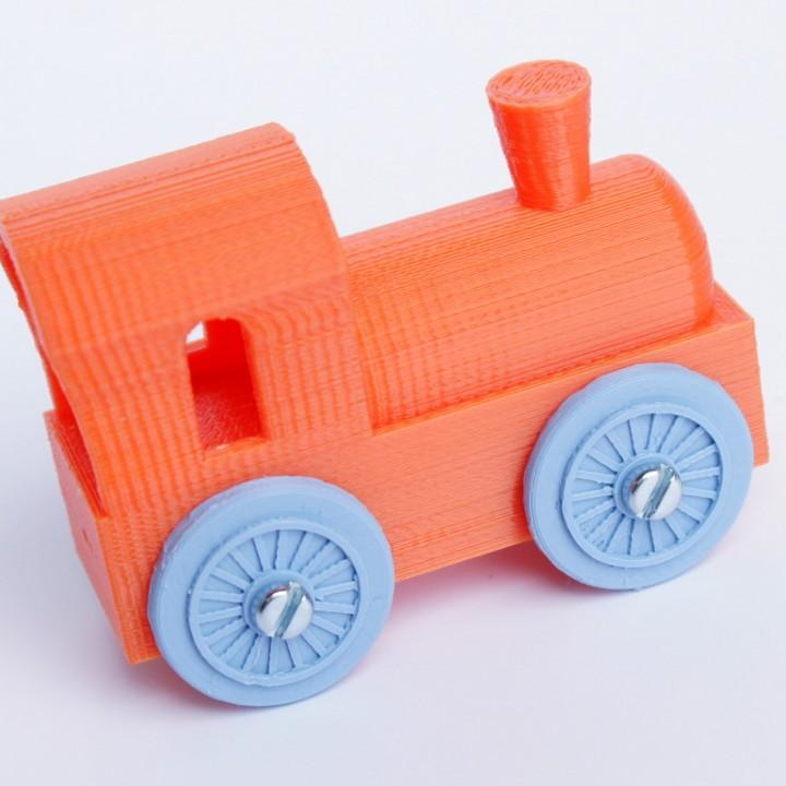 Brio mini locomotive upscalled to regular