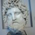 Head of a bearded god image