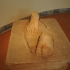 Feet from the statue of a kouros image