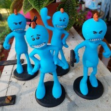 Rick and Morty assortment of Mr. Meeseeks