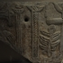 Sarcophagus slab with eagle and crosses image