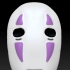 No-Face Mask from SpiritedAway (Wearable if Modified) image