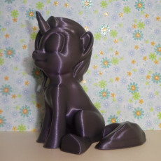 Picture of print of MLP Based Unicorn (Easy Print No Supports )