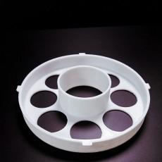 Spool holder for small splash spools used on the CR-10 Printer