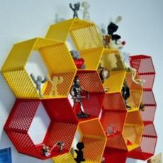 Hexagon fractal shelf