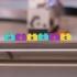 Multi-Color Lego Letter Blocks image
