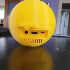 Picture of print of Pacman raspberry pi enclosure case