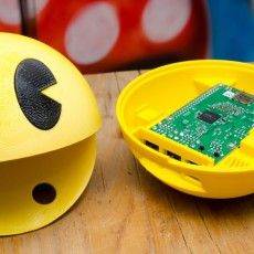 Picture of print of Pacman raspberry pi enclosure case This print has been uploaded by Tom Van den Bon