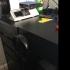 Headphone hook for ikea desk image