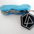 Linkin Park Keychain (dual color compatible) image