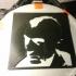 Taxi driver - Stencil print image