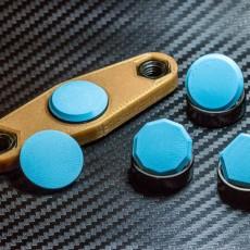 Customizable Fidget Spinner Cap