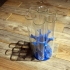 (large) test tube stand (up to 7 test tubes) image