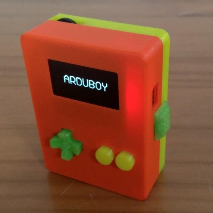 Arduino Handheld Game Console Case