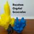 Random Crystal Generator image