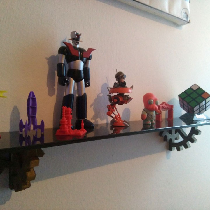 Steampunk Shelf Bracket