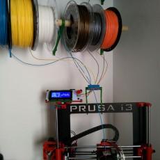 Filament Spool Wall Mount + Hub