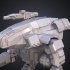 Battletech Marauder FanArt 3D Model Assembly Kit image
