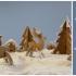 Deer & House & Tree Cookie Cutter image