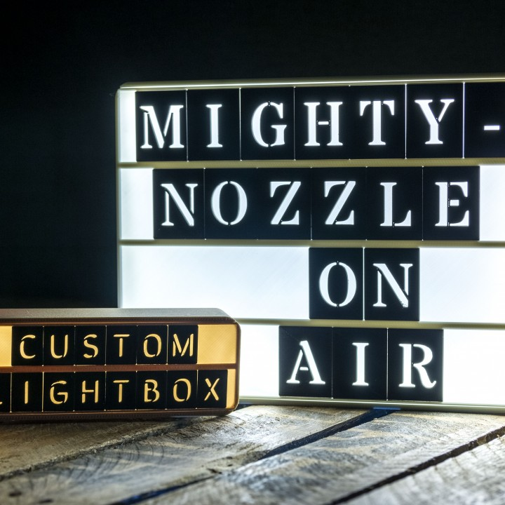 Customizable Retro Lightbox