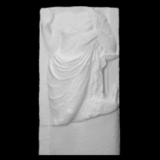 Fragment of a grave stele