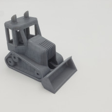 Picture of print of Bulldozer