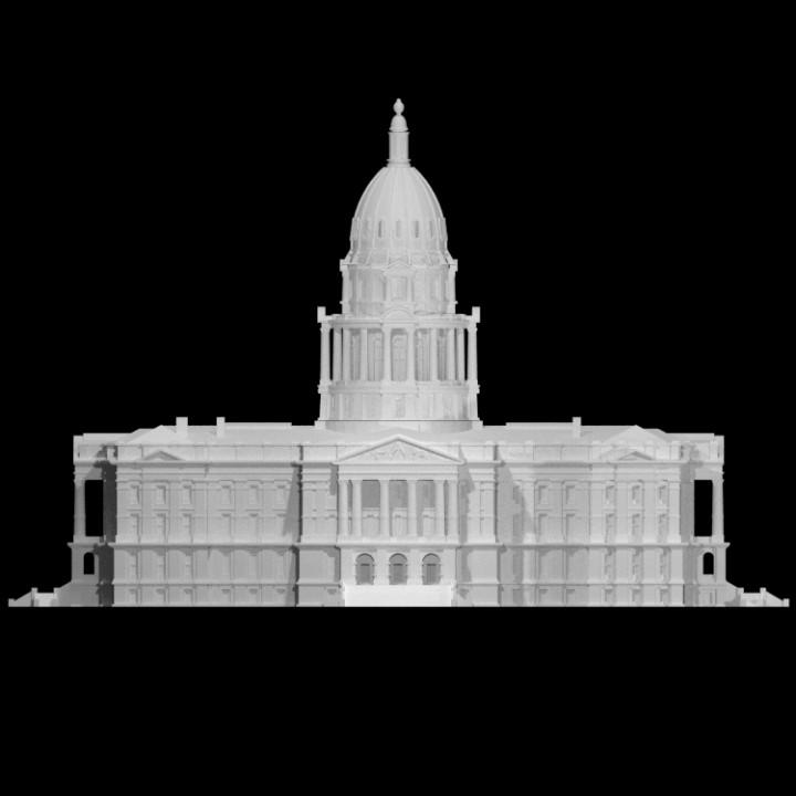 Capitol of Colorado, USA