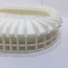 Picture of print of Estadio Azteca