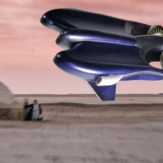 Picture of print of STAR WARS  POD RACER 6