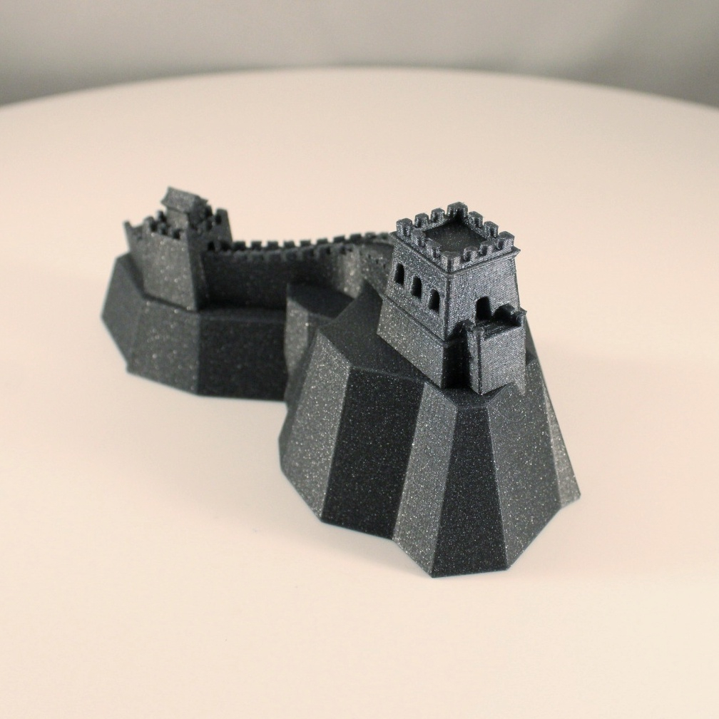 3D Printable Great Wall Of China By MiniWorld 3D