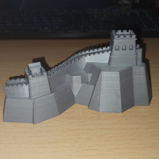 Picture of print of Great Wall of China