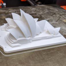 Picture of print of Sydney Opera House - Australia