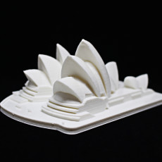 Picture of print of Sydney Opera House - Australia