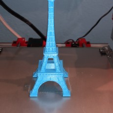 Picture of print of Eiffel Tower - Paris