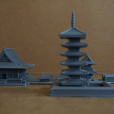 Picture of print of Asakusa Senso-ji Temple
