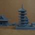 Asakusa Senso-ji Temple print image