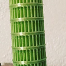 Picture of print of Leaning Tower of Pisa
