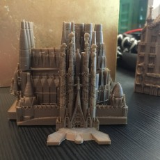 Picture of print of Sagrada Familia, Nativity Facade - Barcelona