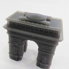 Picture of print of Arc de Triomphe - France