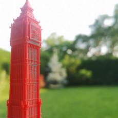 Picture of print of Big Ben - London UK