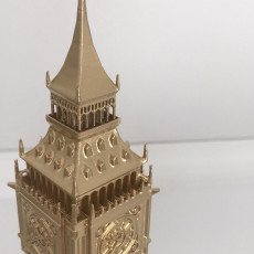 Picture of print of Big Ben - London UK