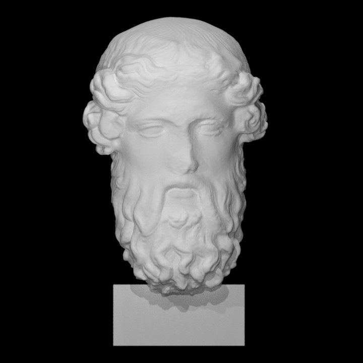 Head of Dionysos