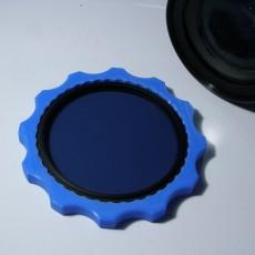 Polarizing filter removal tool