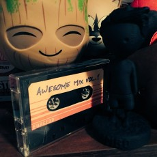 Picture of print of Awesome Mix Tape from Guardians of the Galaxy
