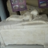 Marble sarcophagus image