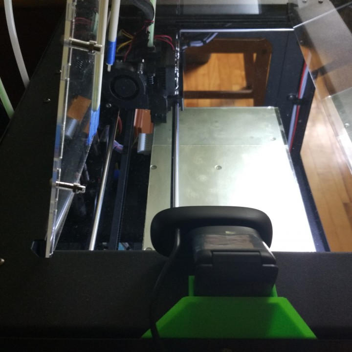 Logitech C270 mount for Makerbot Replicator Dual, FlashForge Creator Pro, QIDI Tech I