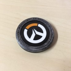 Picture of print of Overwatch Anniversary Logo
