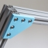 Customizable Plate Bracket for Aluminium Extrusion Profiles (Misumi 2020, 2040, 4040, ...) image