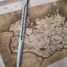 Picture of print of Aerondight Witcher 3