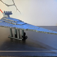 Picture of print of Imperial Star Destroyer Class II